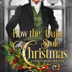 How the Duke Stole Christmas by @alannalucas27 is a Christmas and Holiday Book Festival Pick #Regenc