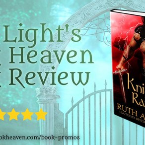 5+ stars for Knight of Rapture: a Druid Knight Story by @ruthacasie #timetravel #romance #bookreview