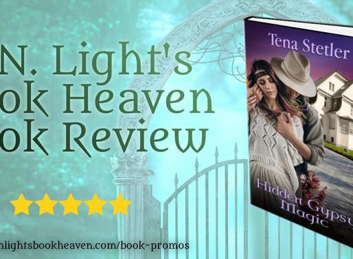 5+ stars for Hidden Gypsy Magic by Bestseller @TenaStetler #paranormalmystery #pnr #bookreview