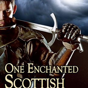 Book Review | One Enchanted Scottish Knight by Award-Winning Author @LauraSt05038951 #historicalroma