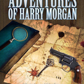 Trouble Seems to Find Harry Wherever He Goes... The Adventures of Harry Morgan by @ClabePolk #advent