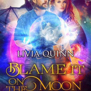 He'll Risk it All... For Her -- Blame it on the Moon by @LiviaQuinn #bookreview #PNR #paranormal