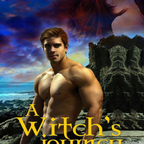 A Witch's Journey by @TenaStetler is a Scary Reads for Halloween pick #paranormalromance #giveaway