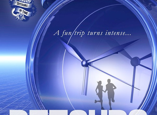 Detours in Time by @PamSCanepa1 is a Shake Off Winter Doldrums Festival Pick #sciencefiction #books