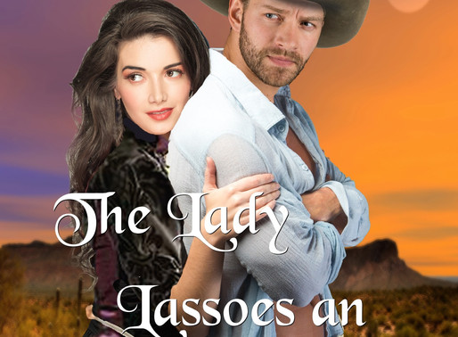 Celebrate romance with The Lady Lassoes an Outlaw by Award-Winning and Bestseller @CRaddon #westernr