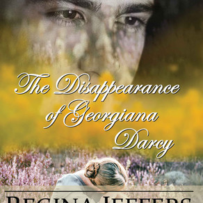 The Disappearance of Georgiana Darcy by @ReginaJeffers is a Cozy Mystery pick #cozymystery #giveaway