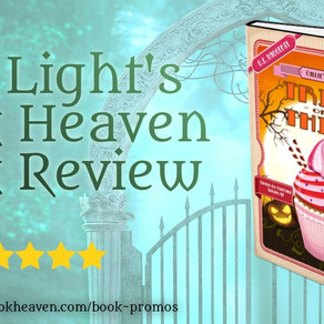 5+ stars for Trick or Thief: A Humorous Culinary Cozy Mystery by @dehaggerty #Halloween #cozymystery