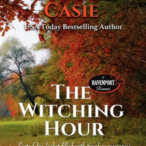 The Witching Hour by USAT Bestseller @RuthACasie is a Cozy Mystery Event pick #cozymystery #giveaway