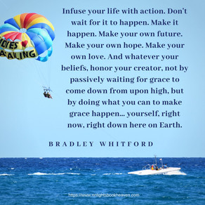 Are You Infusing Life With Action or Are You Waiting for Life to Happen? Heed This Advice! #inspirat