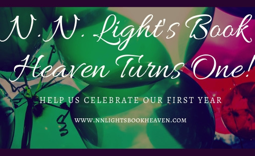 It's a milestone day! N. N. Light's Book Heaven celebrates our first anniversary #bookish #a