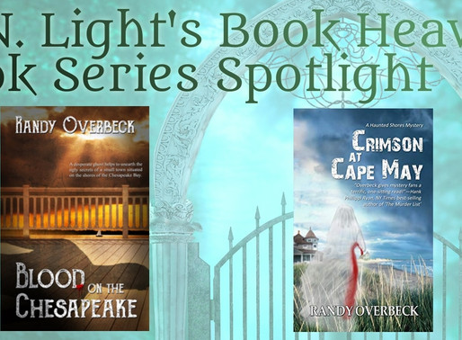 Book Series Recommendation | Haunted Shores Mysteries by @OverbeckRandy #paranormalmystery #wrpbks