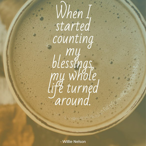 Count Your Blessings Instead of Your Problems and Watch Your Life Change for the Better! #gratitude