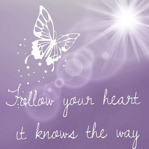 Follow Your Heart... It Knows the Way! #inspiration #motivation #WednesdayWisdom #WednesdayMotivatio