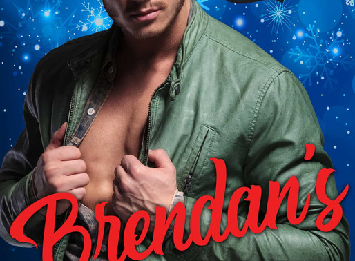 Holiday Hunks: Brendan's Christmas Surprise by @OkatieO is a Christmas and Holiday Book Festival Pic