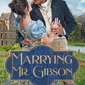 Marrying Mr. Gibson by USA Today Bestseller @AlinaKField is a Snuggle Up Readathon Pick #Regency #ro