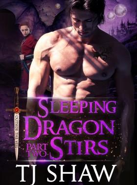 """Intoxicating!"" Sleeping Dragon Stirs (Outside the Veil, #2) by @TJShawAuthor #PNR #parano"