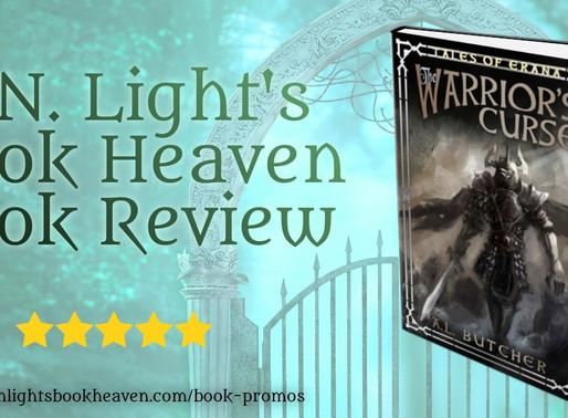 5 stars for Tales of Erana: The Warrior's Curse by Award-Winning Author @libraryoferana #darkfantasy