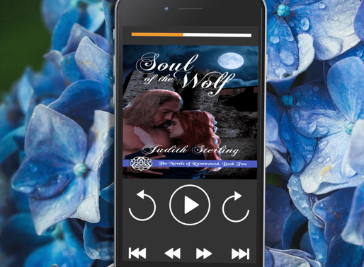 Celebrate Audiobook Month with Soul of the Wolf by Judith Sterling and @WildRosePress #historicalrom
