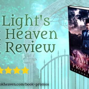 5+ stars for The Vampire of the Prophecy by @AuthorVictoriaJ #paranormalromance #mustread #pnr