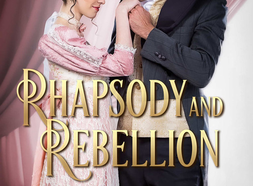 Celebrate weddings with Rhapsody and Rebellion by Bestseller @Aubreywynne51 #99cents #Regency