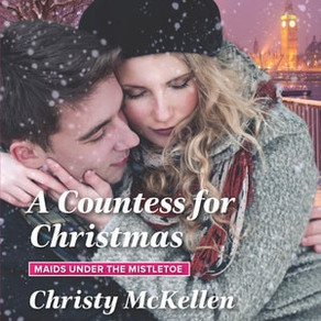 The Earl's Secret Bride… A Countess for Christmas by @ChristyMcKellen #bookreview #holidayromanc