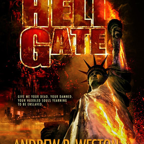 Book Review | Hell Gate by International Bestseller @WestonAndrew #fantasy #gothic #bookreview