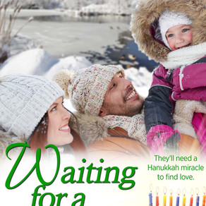 Book Review | Waiting for a Miracle by @JWilck #holidayromance #ownvoices #bookreview #Hanukkah