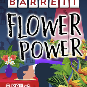 Flower Power by @bbarrettbooks is a Cozy Mystery Event pick #cozymystery #giveaway