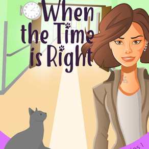 When the Time is Right by @BillBushAuthor is a Cozy Mystery Event pick #cozymystery #giveaway