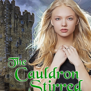 The Cauldron Stirred by Judith Sterling and @WildRosePress Blends #Paranormal with #Fantasy Set in I