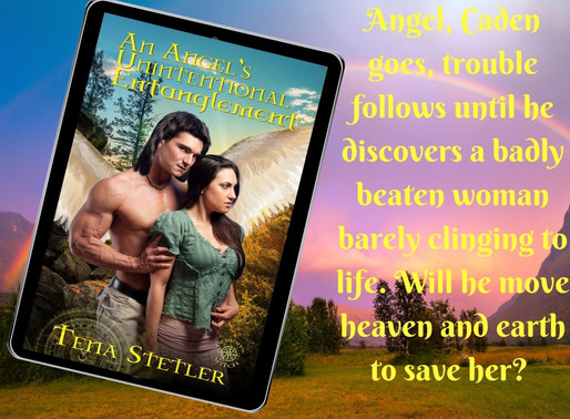 Celebrate spring with An Angel's Unintentional Entanglement by @TenaStetler #paranormalromance #