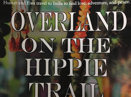 Overland On The Hippie Trail by @LFarmerWrites is a Snuggle Up Readathon Pick #travel #adventure #ro