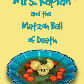 Mrs. Kaplan and the Matzoh Ball of Death by @MarkReutlinger is a Cozy Mystery pick #cozymystery