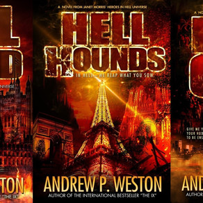 Book Series Recommendation | Hell Bound, Hell Hounds, Hell Gate by International Bestseller @WestonA