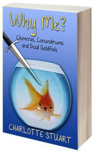 Why Me? Chimeras, Conundrums and Dead Goldfish by @quirkymysteries is a Beach Reads pick #mystery