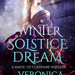 Winter Solstice Dream: A Magic of Claddare Novella by USA Today Bestseller @vscotttheauthor is a Chr