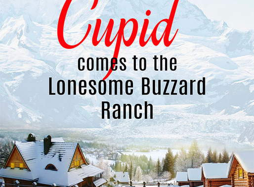 Celebrate romance with Cupid Comes to the Lonesome Buzzard Ranch by @hebby_roman #romance #western #