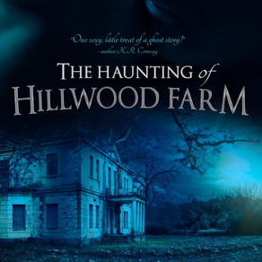 The Haunting of Hillwood Farm by Bestseller @k_knightbooks #ghoststory #coverreveal #romanticsuspens