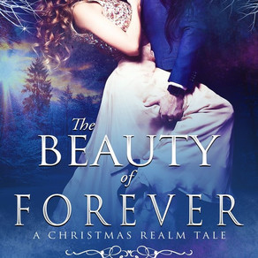 The Beauty of Forever (A Christmas Realm Tale I) by @ElyzabethVaLey #ChristmasinJulyFete #giveaway #