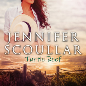 Turtle Reef by Bestseller @JenScoullar is a Snuggle Up Readathon Pick #romance #womensfiction #givea