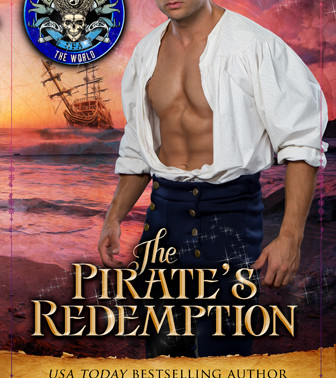 Cover Reveal | The Pirate's Redemption by USA Today Bestseller @RuthACasie #historicalfantasy #p