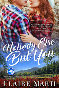 Nobody Else But You by @clairepmarti is a Beach Reads pick #romance #beachread #giveaway
