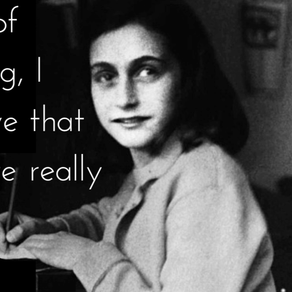 Remember #AnneFrank's Wisdom in the World's Darkest Moments and See the Good in Others Today