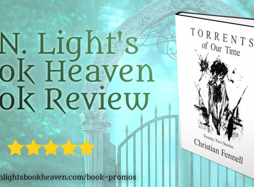 5 stars for Torrents of Our Time: Twenty-Two Stories by Christian Fennell #literaryfiction #bookish