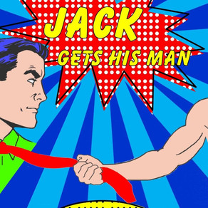 #PromotionWithPride Proudly Presents: Jack Gets His Man by @dehaggerty #RomanticComedy #PrideMonth #