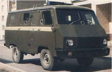 1993 prototyp of bank-van