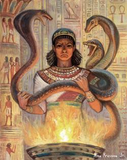 Гармахис со змеями