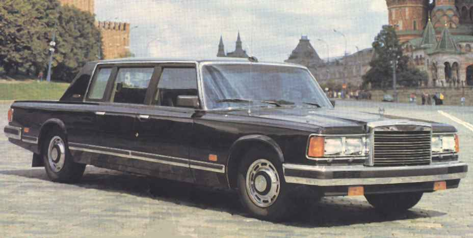 1987 next generation of ZIL-limousine
