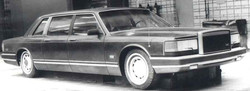1983 project of ZIL-limo