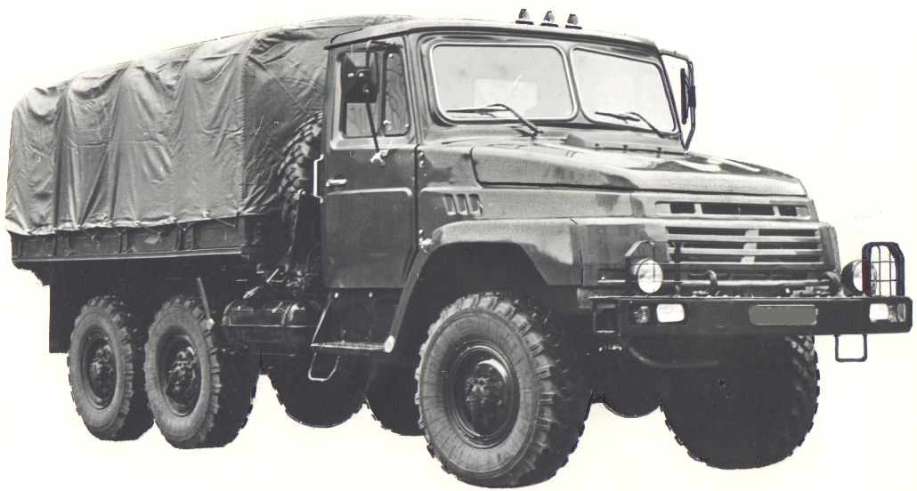 1989 prototyp of neavy-duty truck